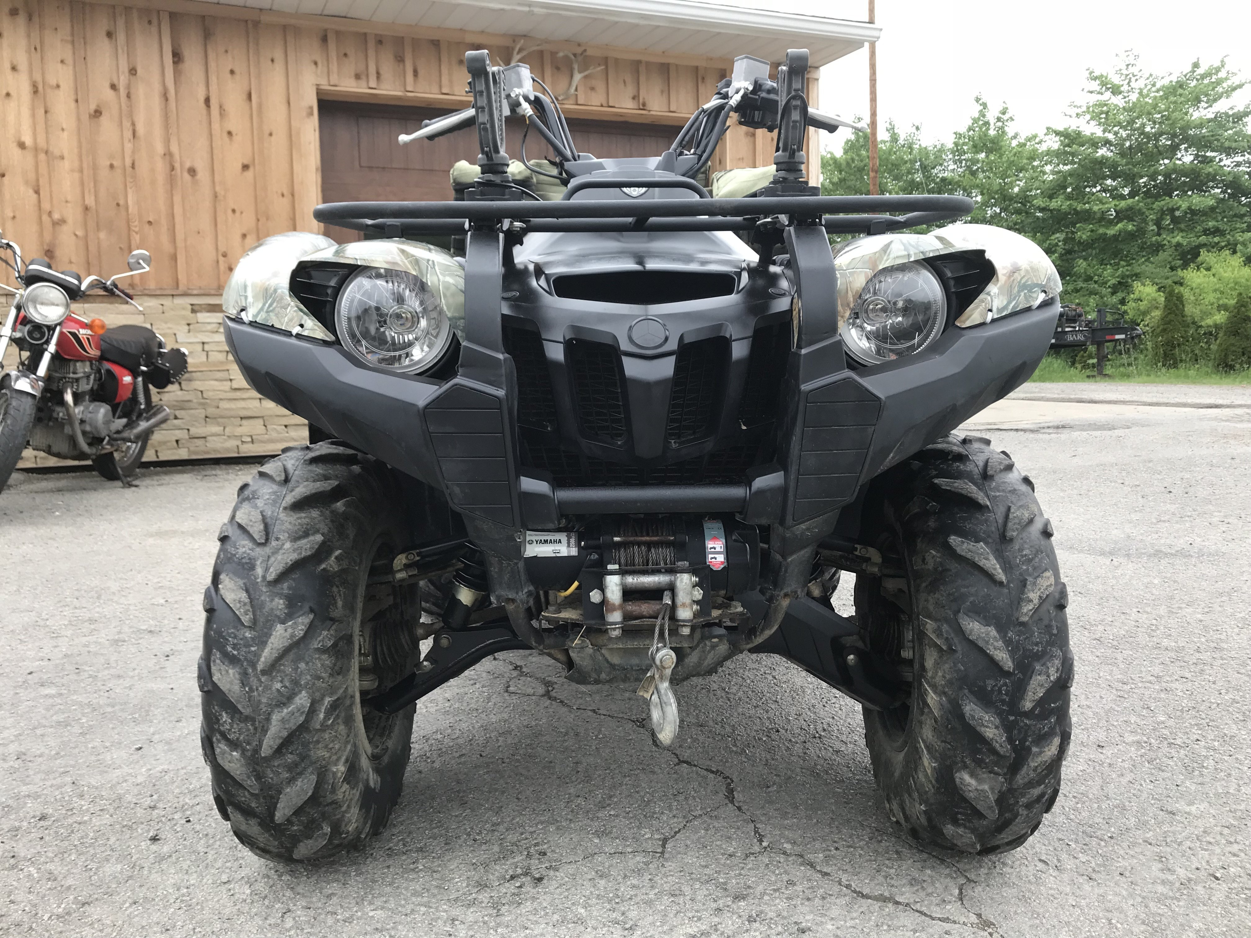 2012 Yamaha Grizzly 700 EPS Camo - One Owner