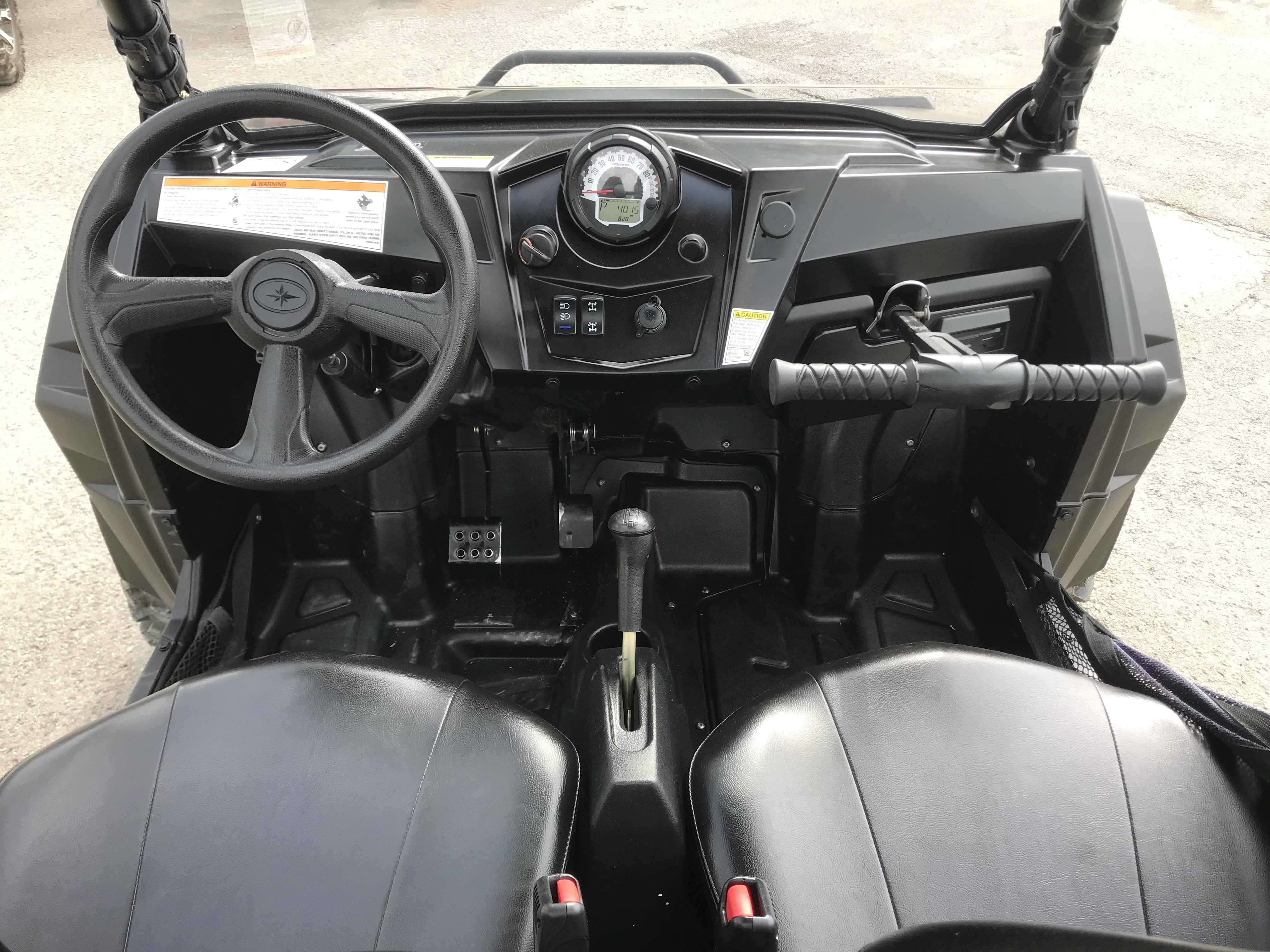 2014 Polaris RZR XP 900 EPS LE - Stealth Black Edition