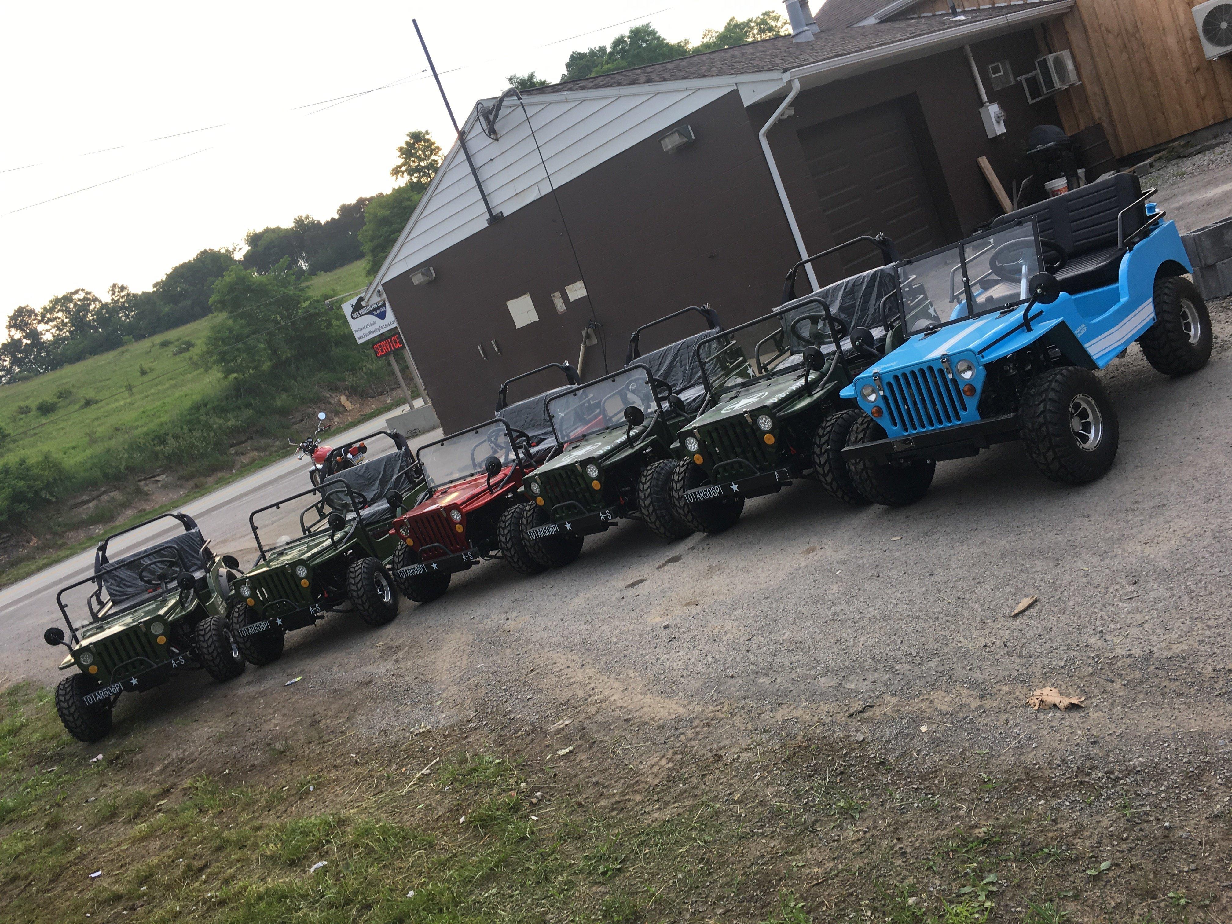 Mini Jeeps - 125cc 79517