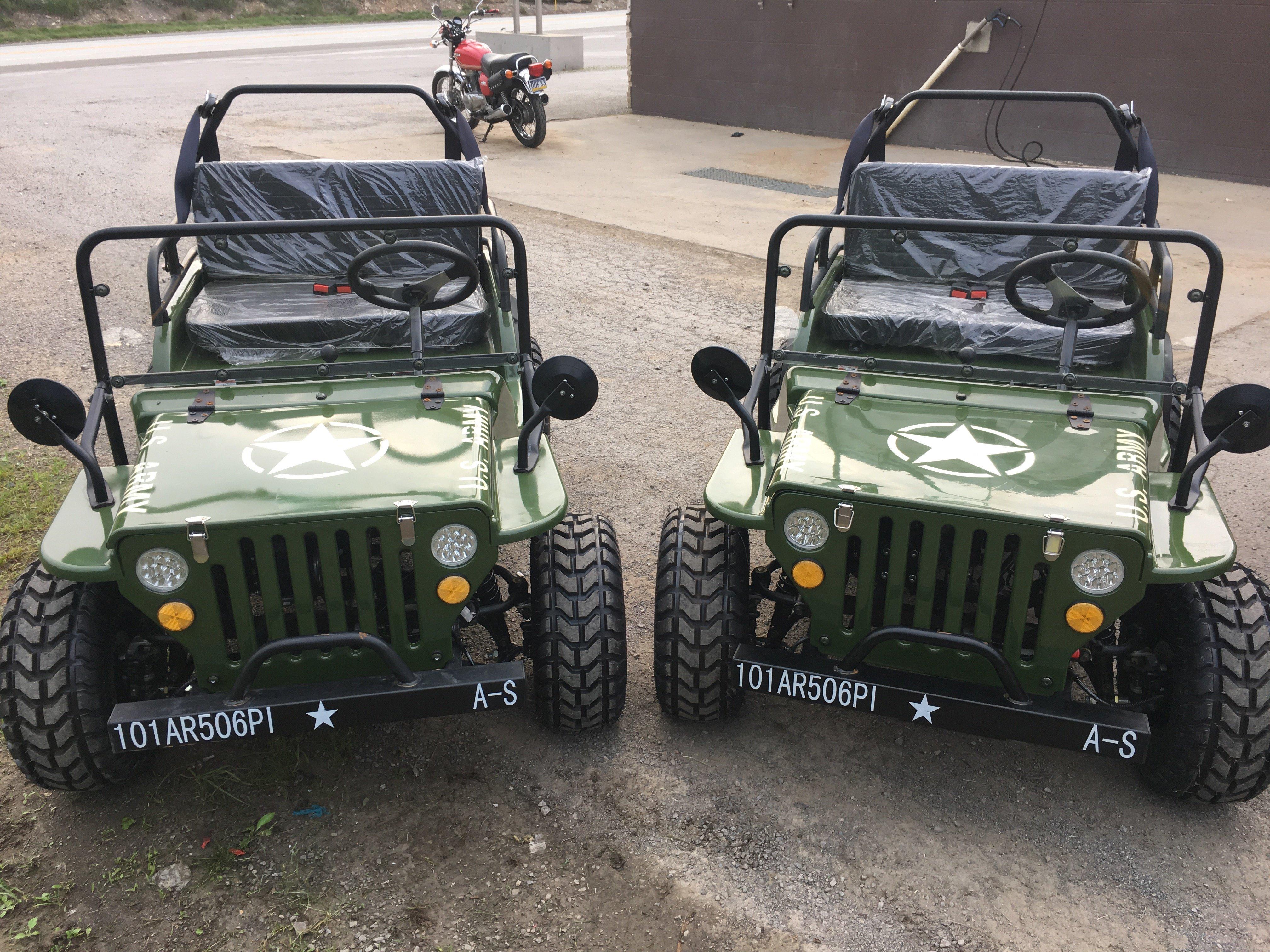 Mini Jeeps - 125cc