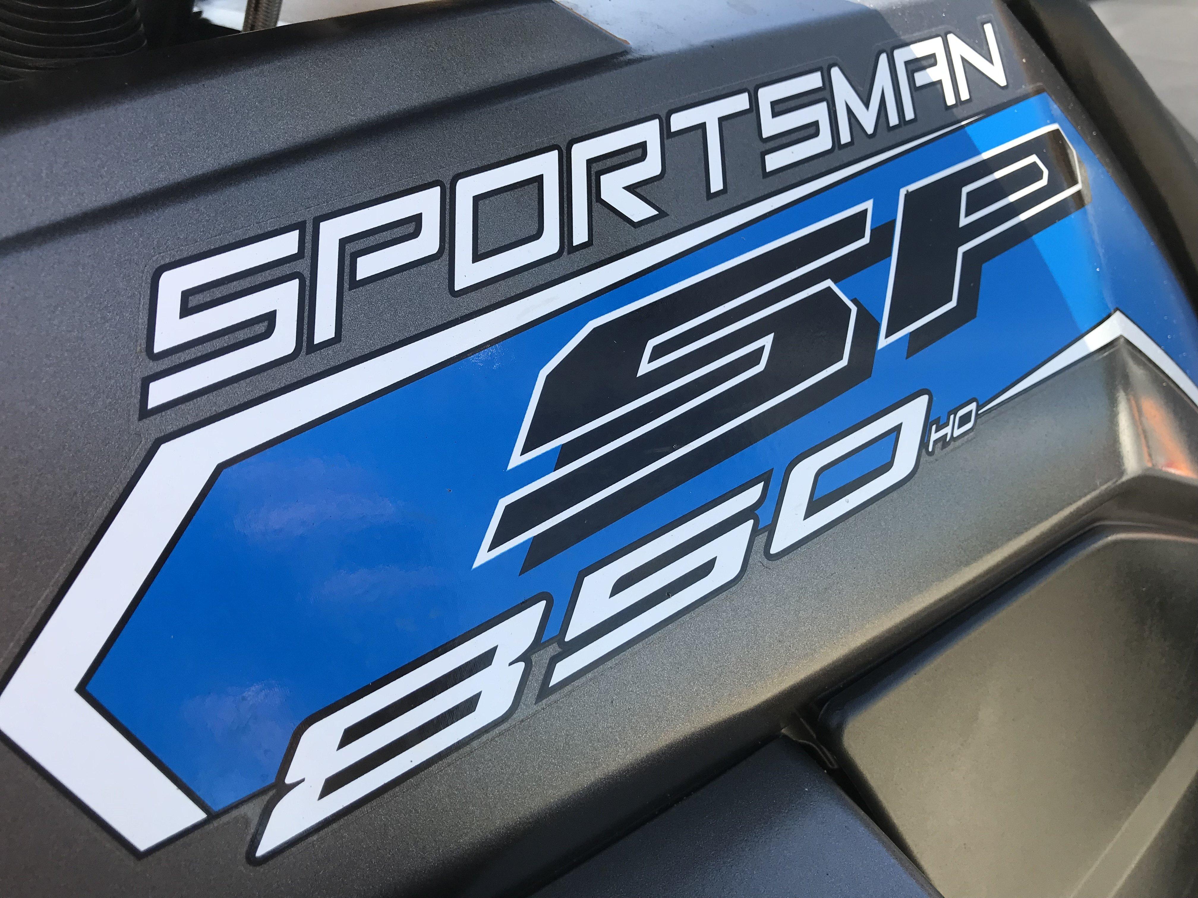 2017 Polaris Sportsman 850 SP EPS