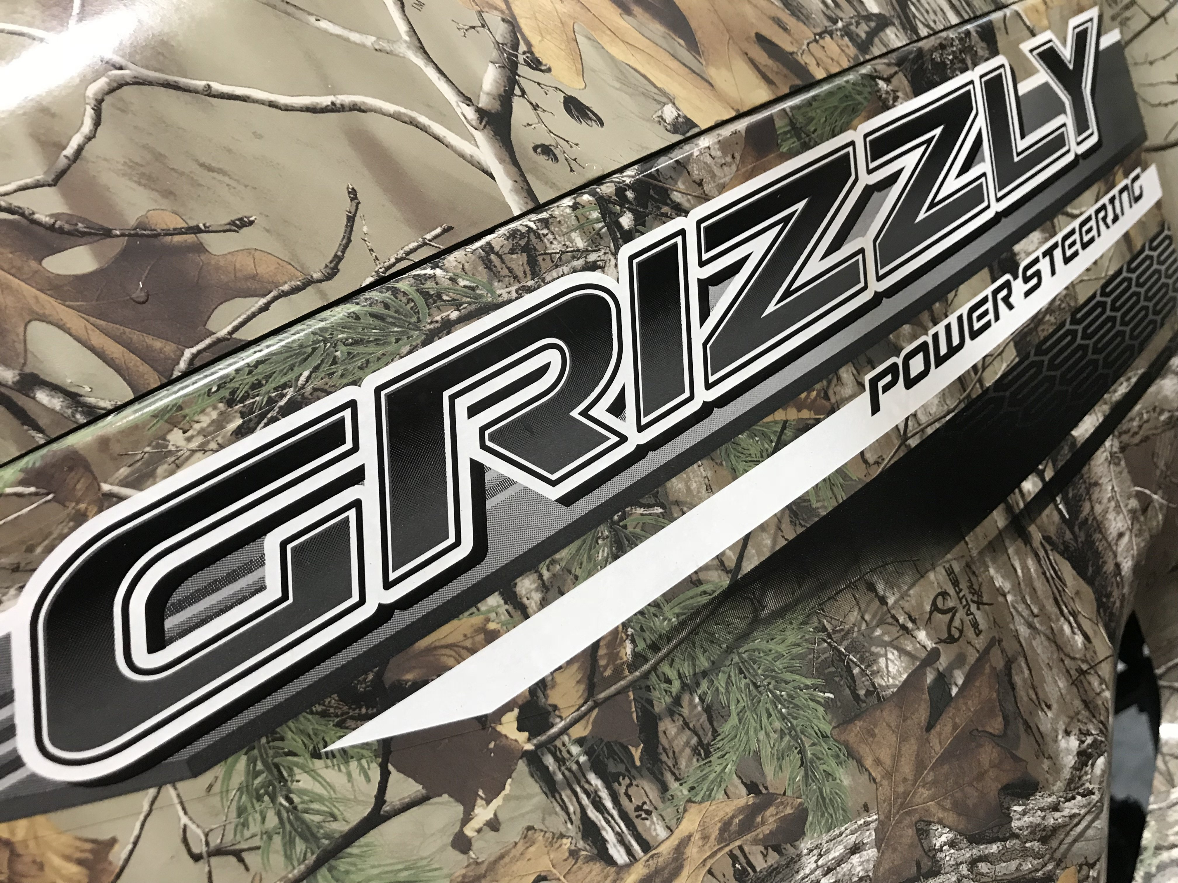 2016 Yamaha Grizzly 700 Camo EPS