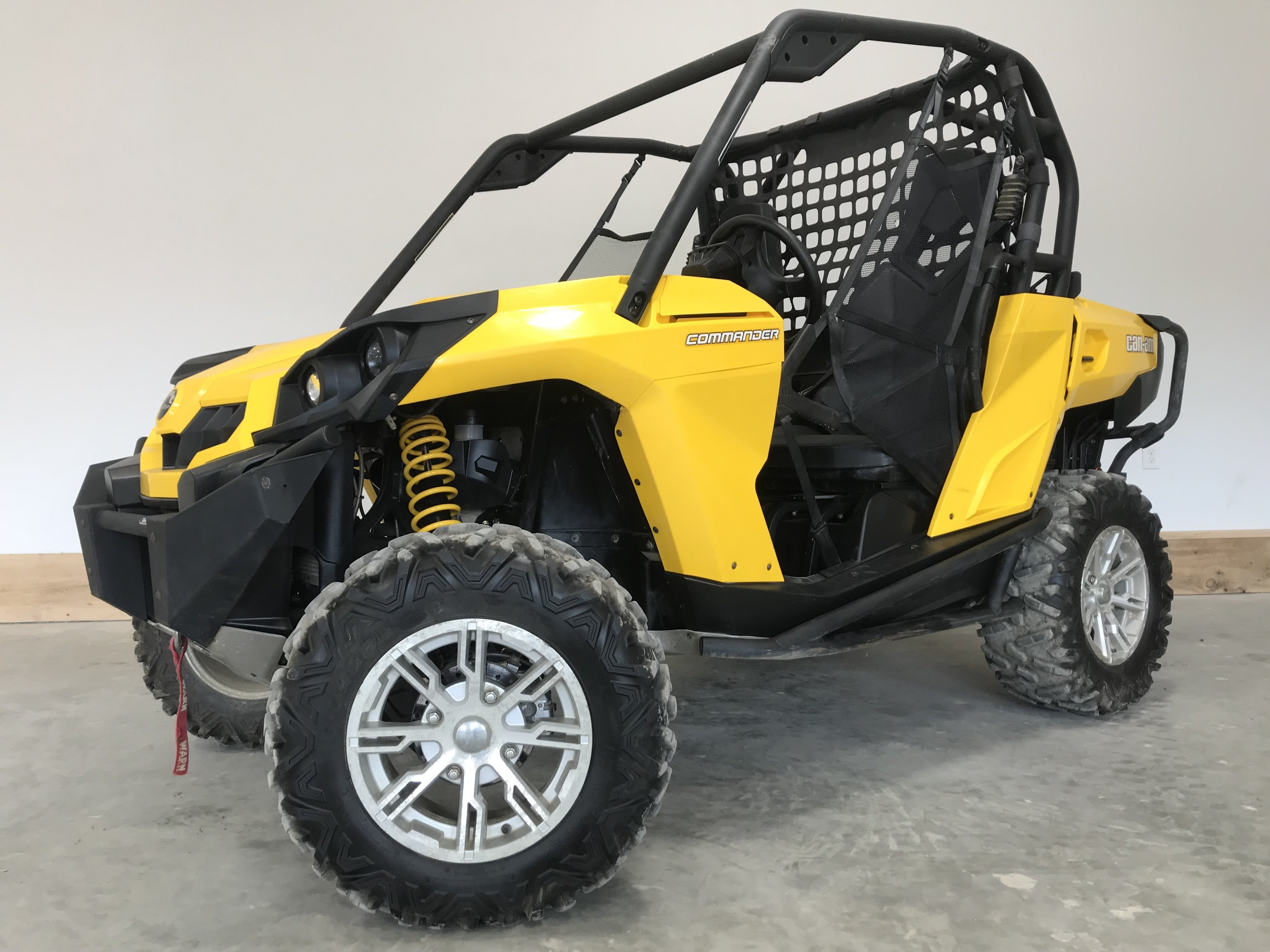 2013 Can-Am Commander 800R DPS - Low Miles 79541
