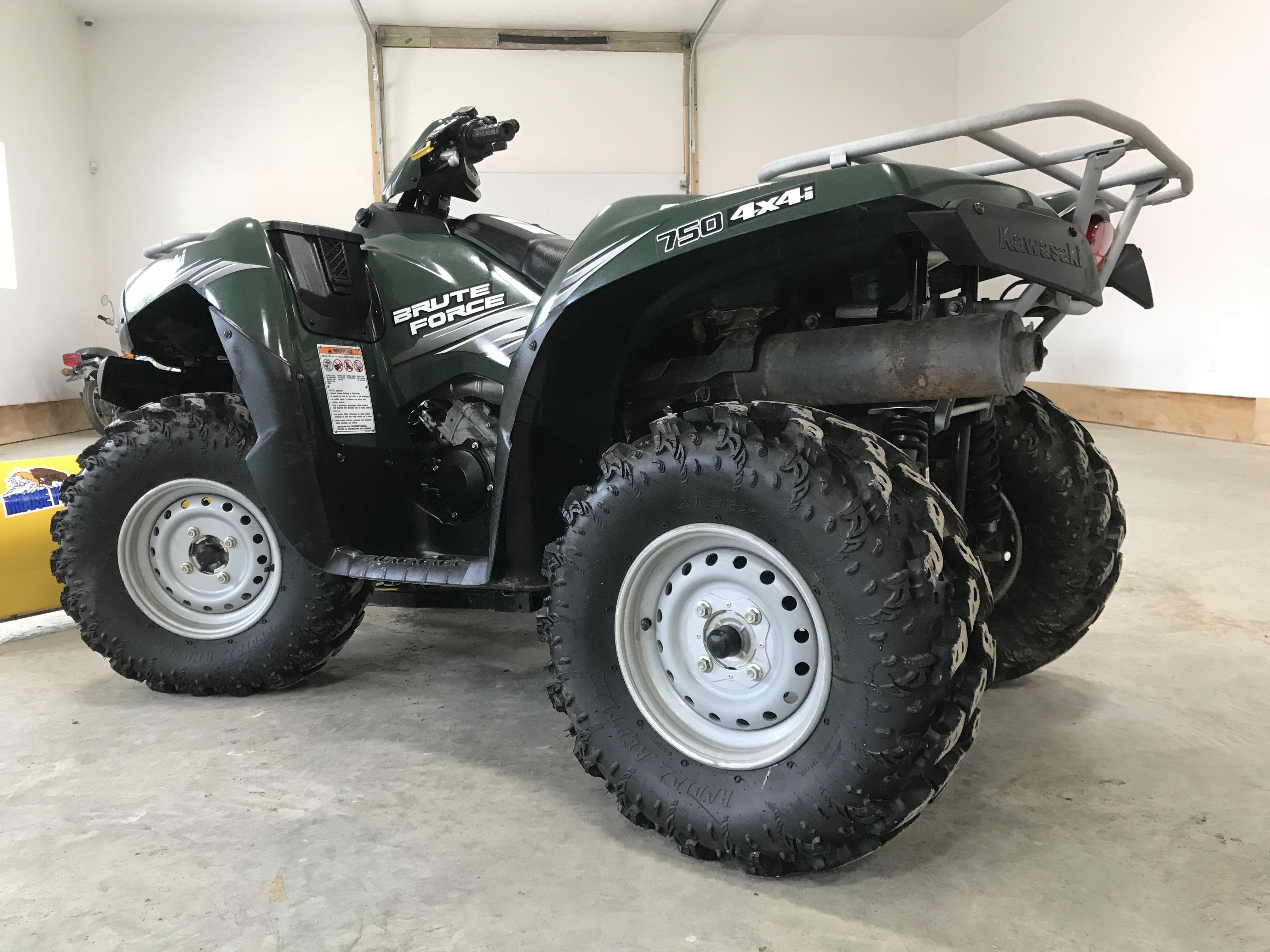 2011 Kawasaki Brute Force 750 4x4 - Nearly New Condition