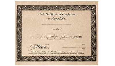 A Call To Growth Graduation Diplomas (Pack of 10)