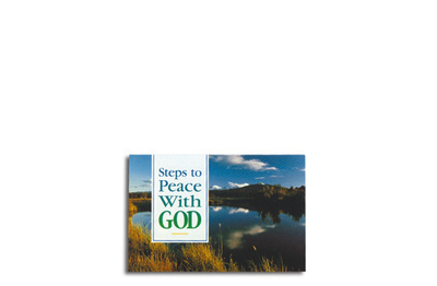 Steps To Peace With God Booklet (Pack of 25)