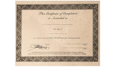 A Call To Joy Graduation Diplomas (Pack of 10)