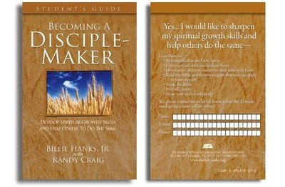 Becoming A Disciple-Maker Small Group Participation Form (Pack of 25)