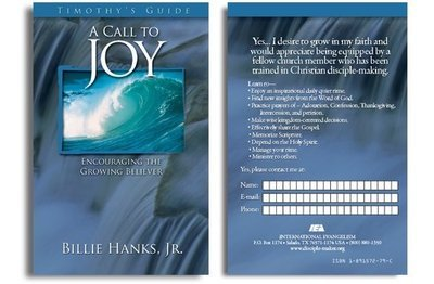 A Call to Joy Participation Form (Pack of 25)
