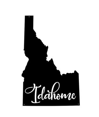The Kootenai // 'Idahome' Sign