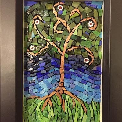 Beautiful Smalti tree of life mosaic  $20 donated if sold