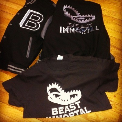 Beast Immortal various colors t-shirts