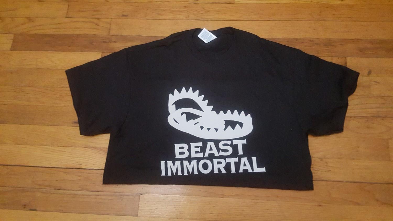 Beast Immortal black t-shirt
