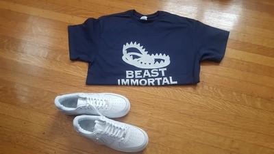 Beast Immortal blue t-shirt