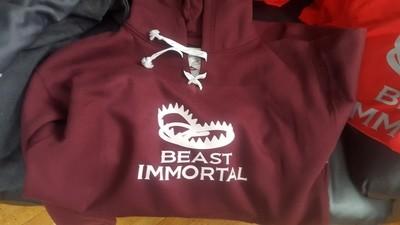 Beast Immortal hockey hoodie
