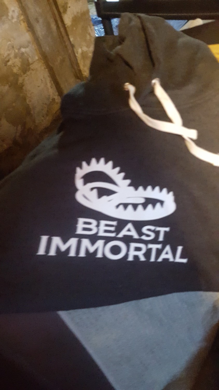 3 Beast Immortal different color hoodies