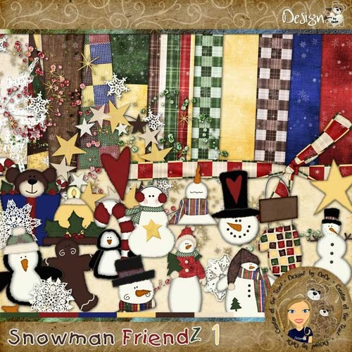 Snowman FriendZ 1