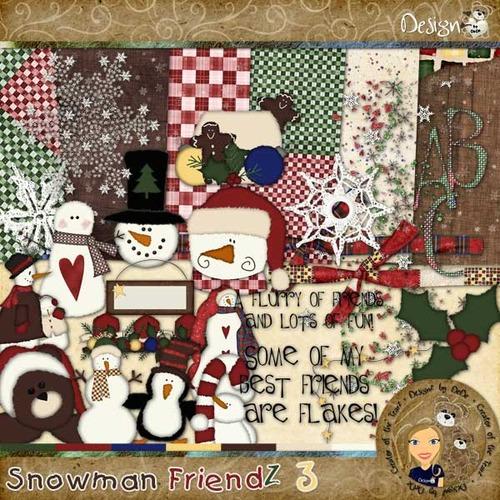 Snowman FriendZ 3