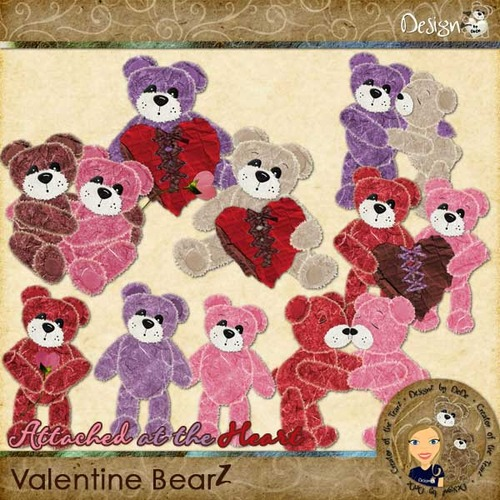 Attached at the Heart: Valentine BearZ