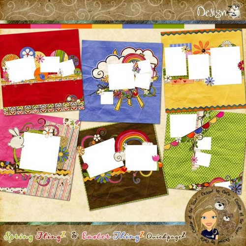Spring FlingZ & Easter ThingZ: QuickpageZ