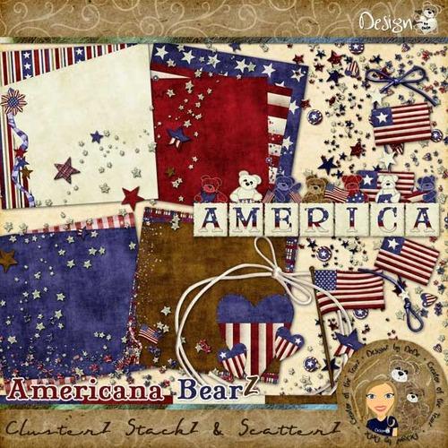 Americana BearZ: ClusterZ StackZ & ScatterZ