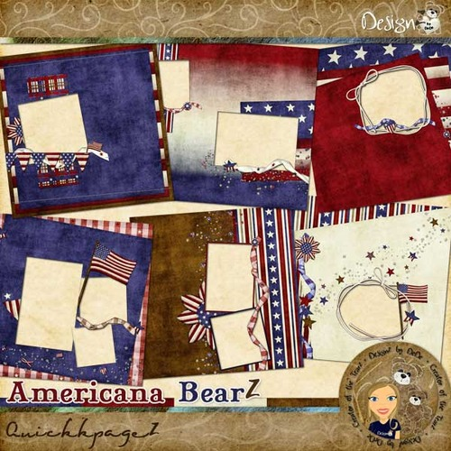 Americana BearZ: QuickpageZ
