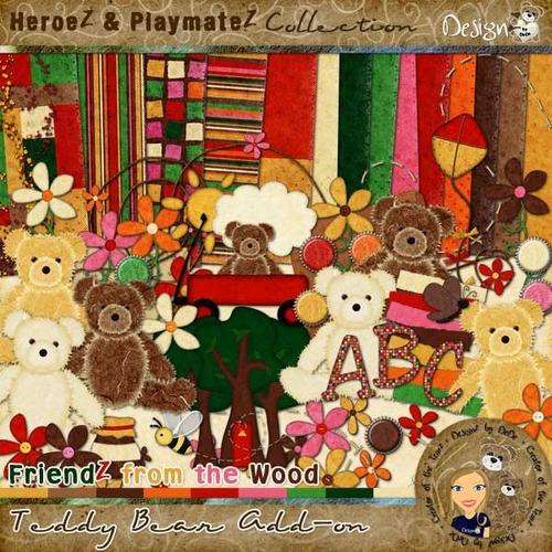 FriendZ from the Wood: Teddy Bear Add-on
