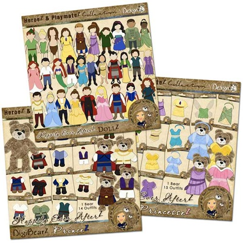 Happily Ever AfterZ: BearZ & DollZ Bundle
