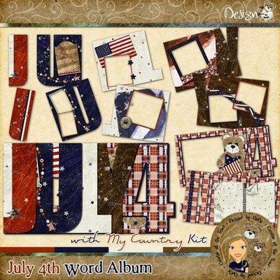 July 4th Word Album
