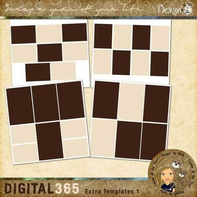 Digital 365: Extra Templates 1