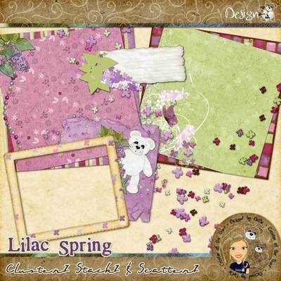 Lilac Spring: ClusterZ StackZ & ScatterZ