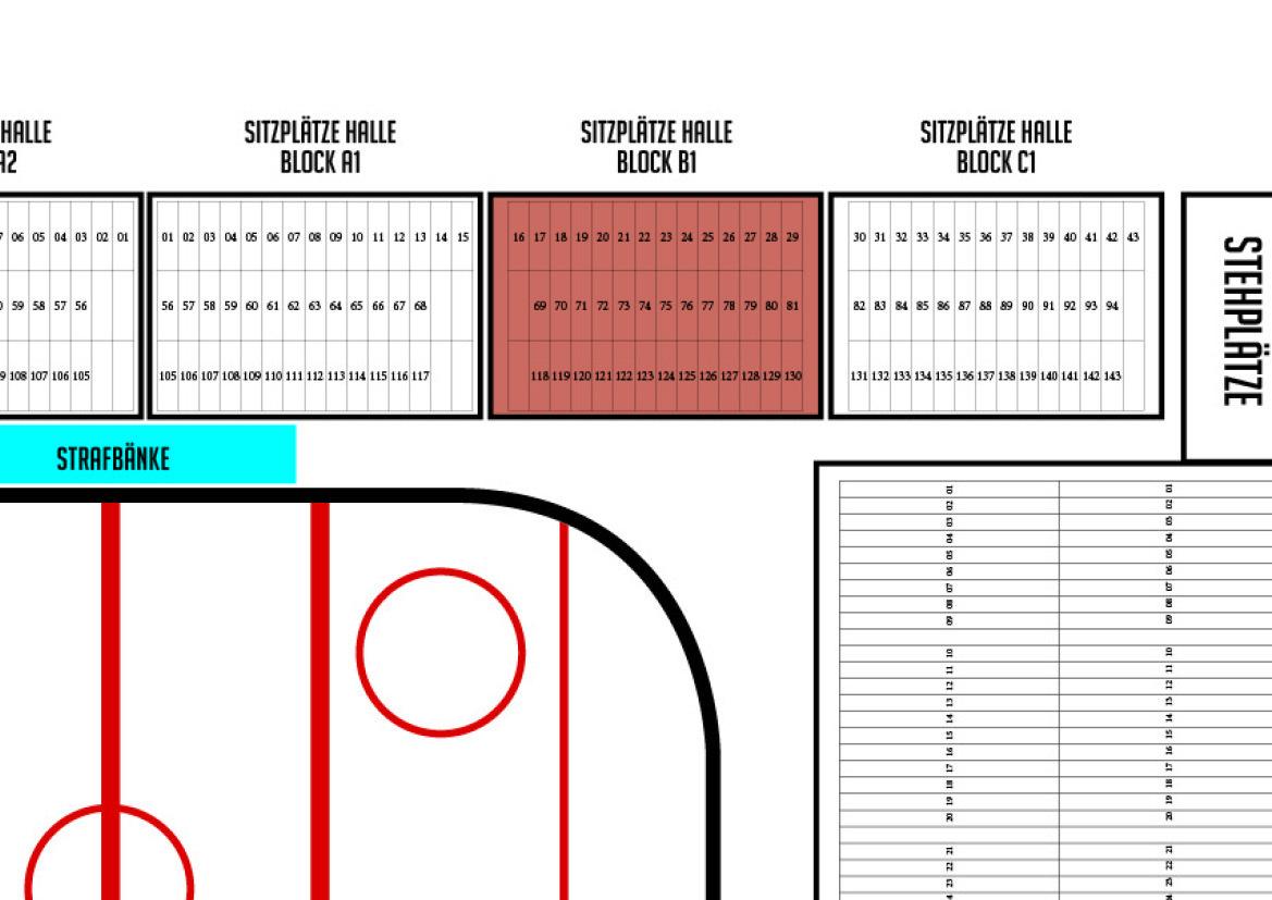 Dauerkarte 2017/18 Sitzplatz BLOCK B1