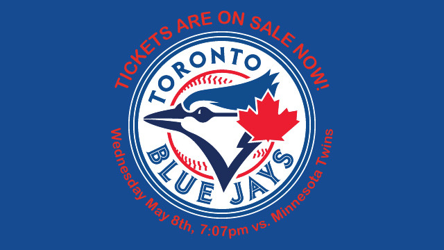 Blue Jays tickets - May 8th, 2019 - NO LONGER FOR SALE