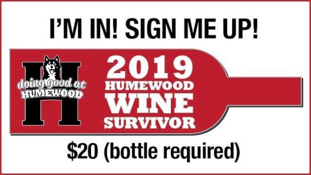 Humewood School Wine Survivor $20 tickets  (bottle required)