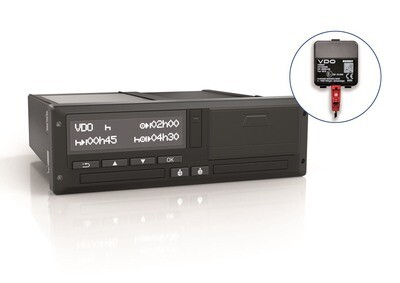 UNIVERSALE (1381-7550333003) DTCO 4.0 24V-ADR VKF R4.0 EC/GGVS Serie (24Y I 12V ADR-22 with CAN-R)