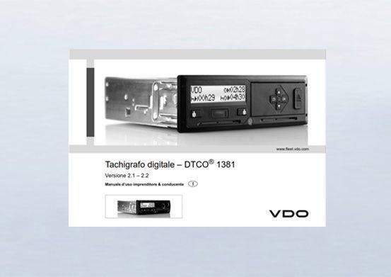 Manuale tachigrafo digitale DTCO 2.1/2.2 / Italiano