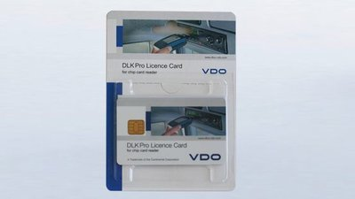 DLK PRO Licence Card per lettura infrazioni