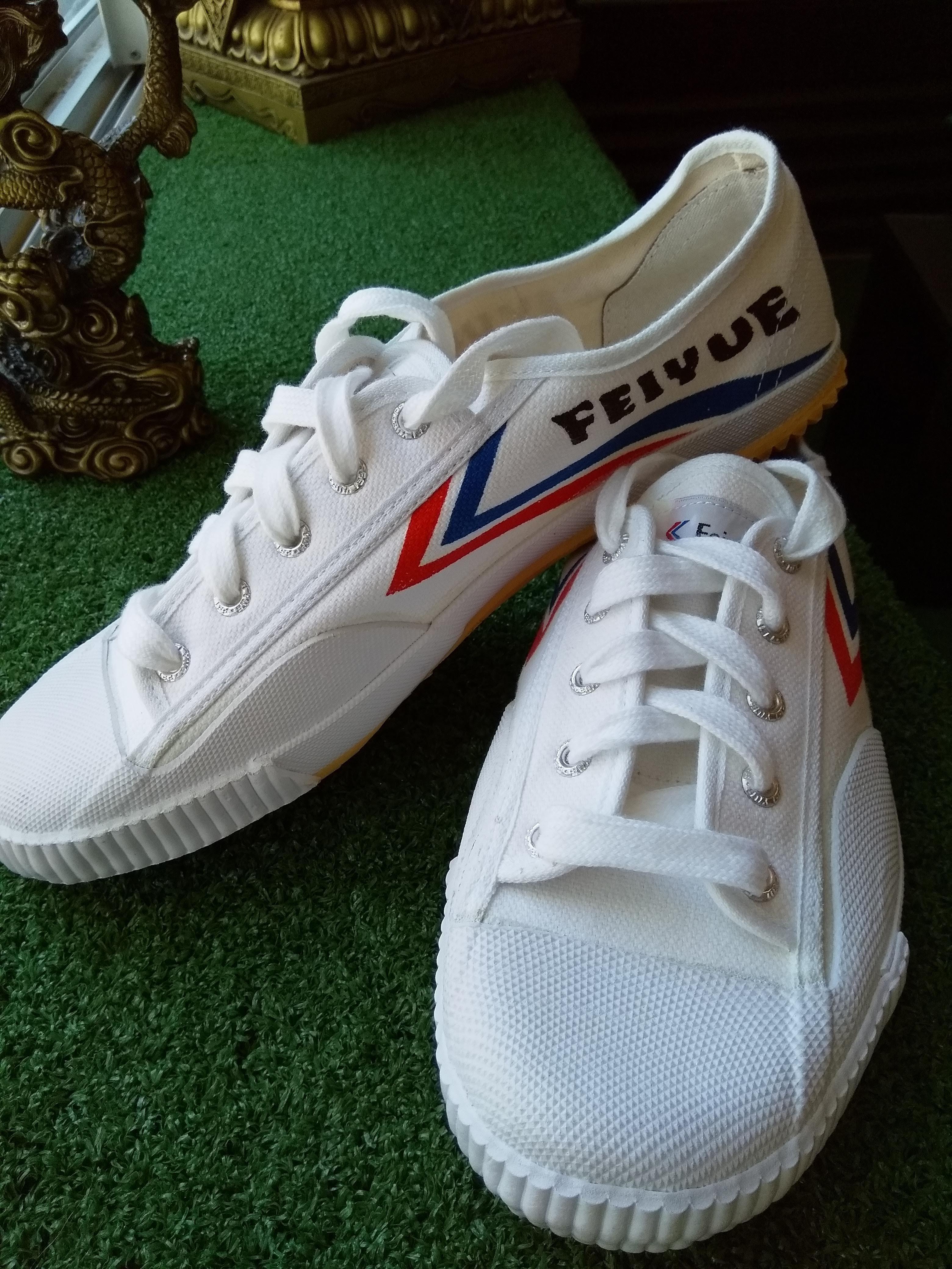 Feiyue Authentic Lo White