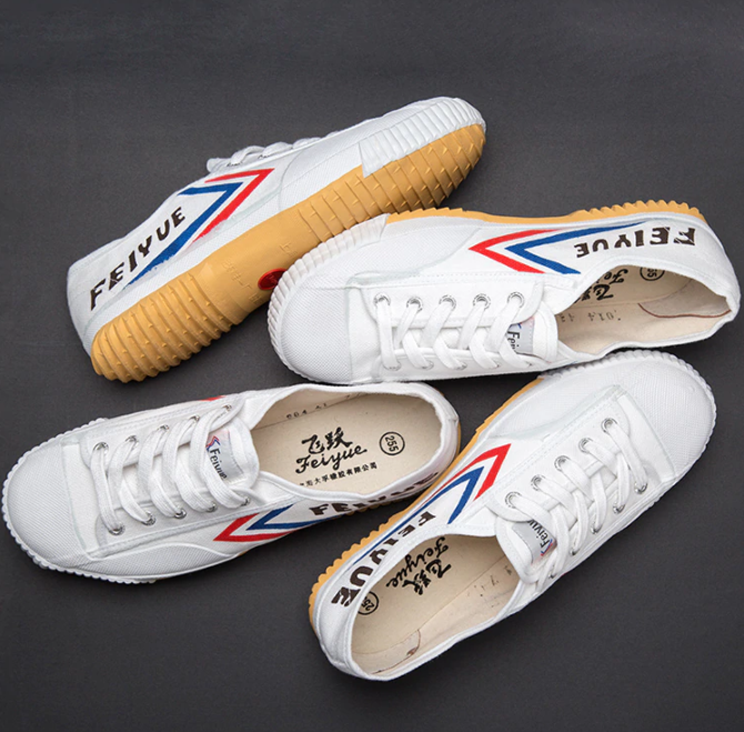 Feiyue White (Red Circle) Bulk Buy 00014