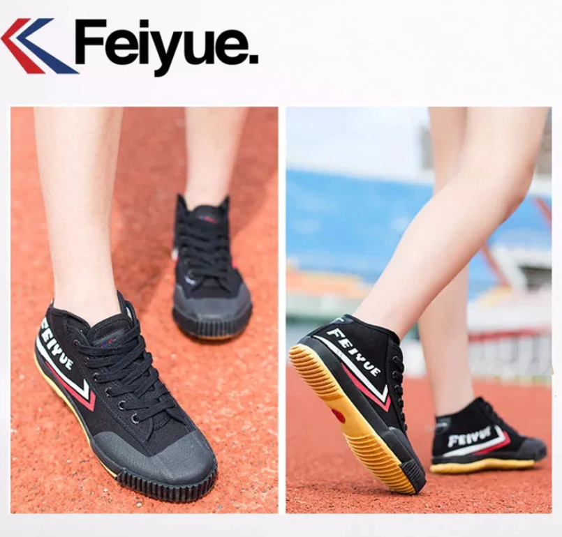 Feiyue Classic Hi Top Boot rubber tip