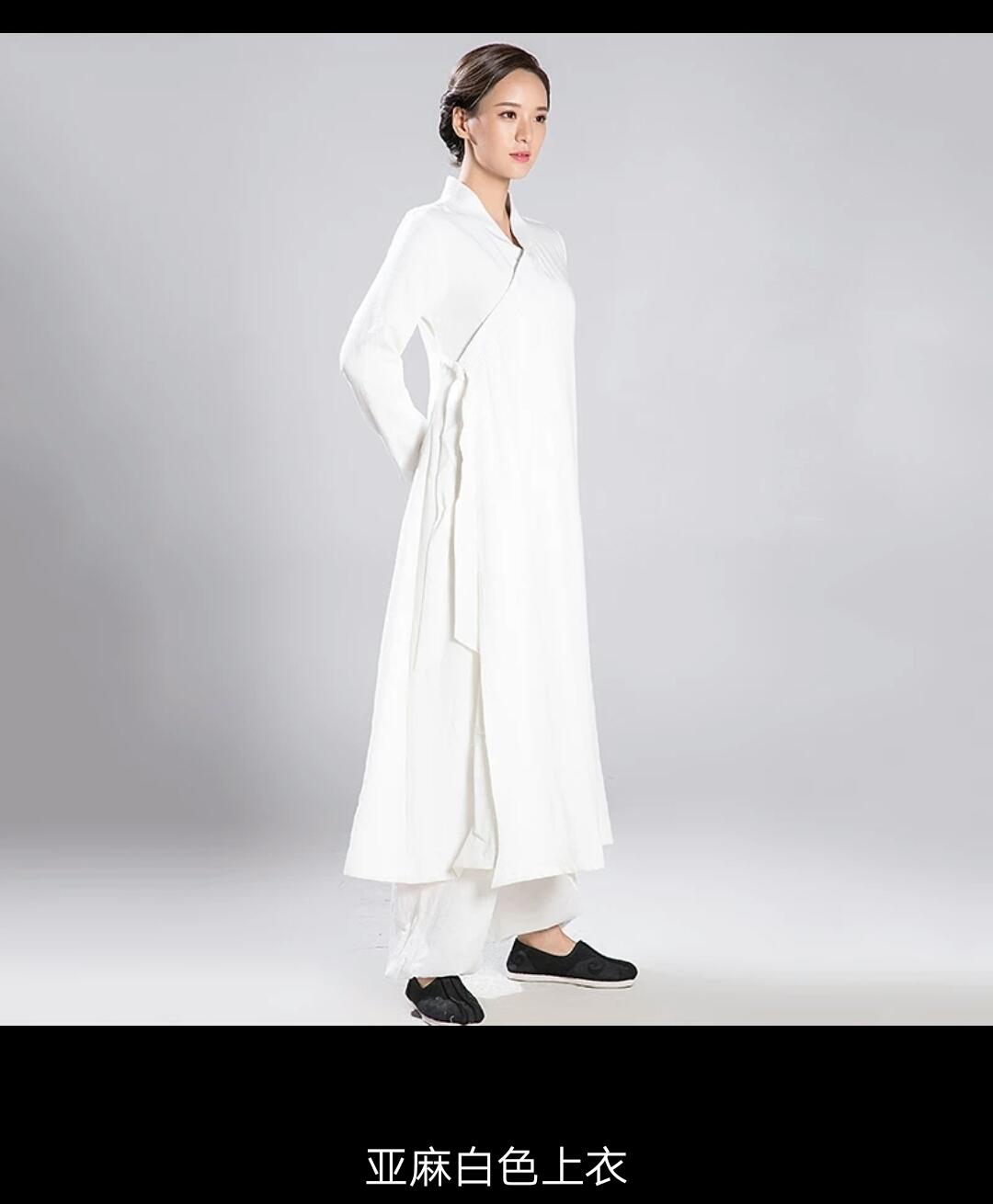 Ladies Daoist Linen Set 13561