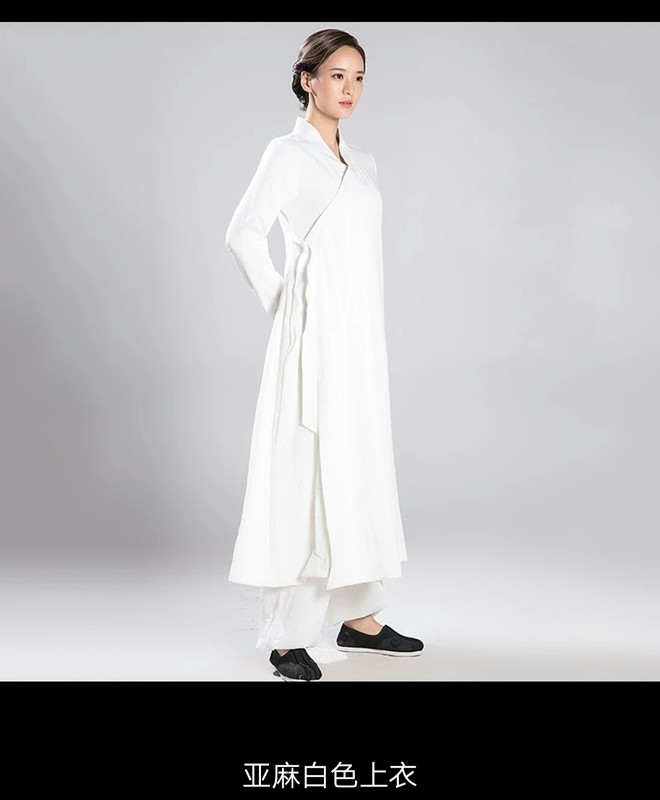 Ladies Daoist Linen Set