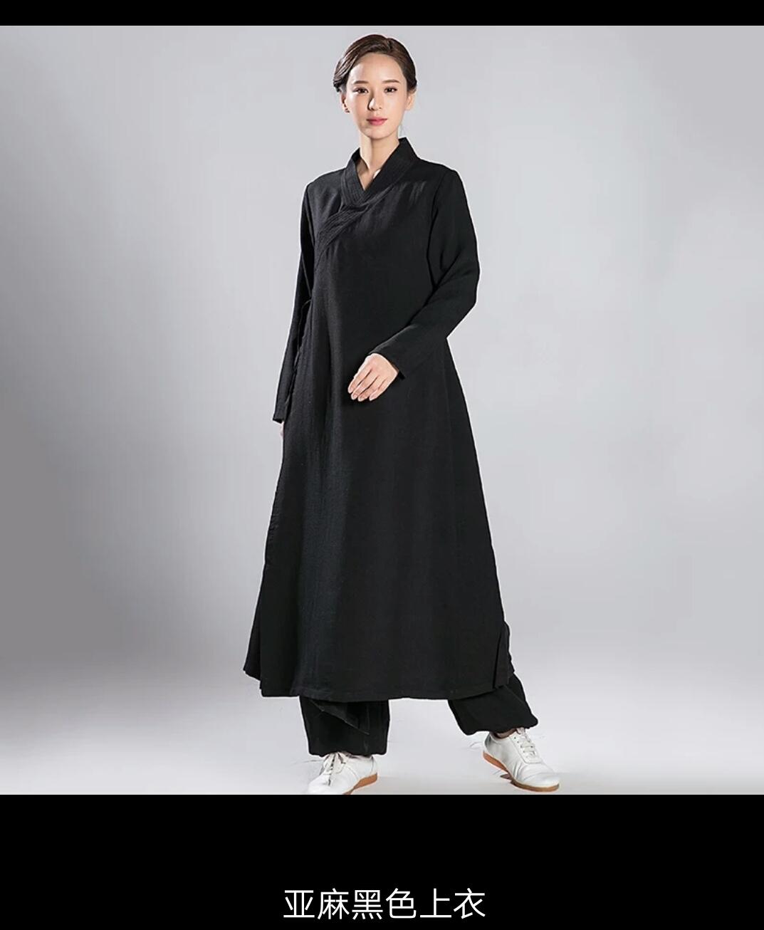 Ladies Daoist Linen Set