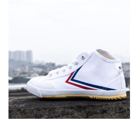 Hi Top Feiyue Classic Rubber tip with Stripes