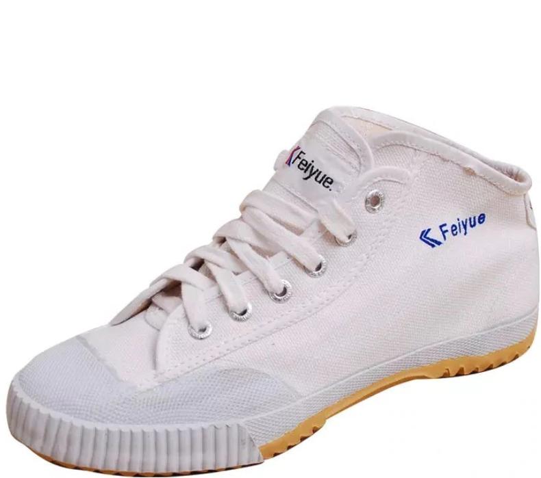 Feiyue Boot White (rubber front & small logo) 13553