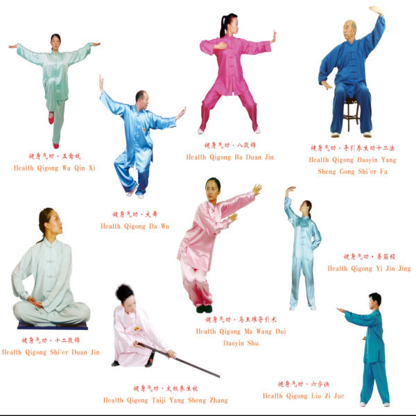 Health Qigong Classes - Weekly training sessions