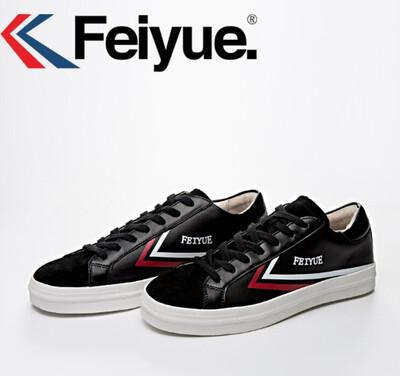 Black Leather Sneaker Feiyue - NEW