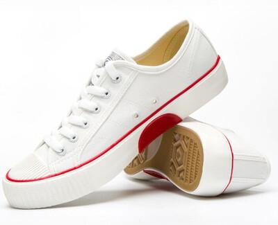 White Old School Sneaker Feiyue