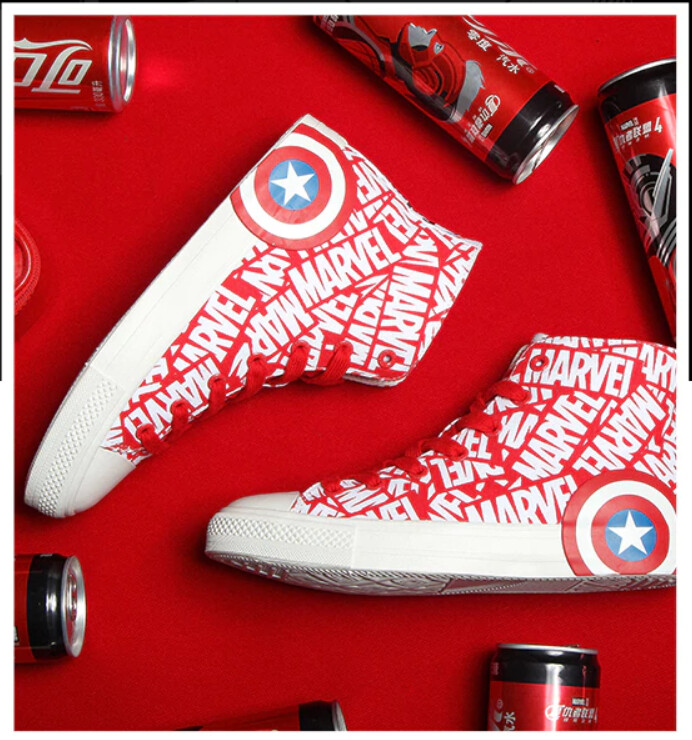 Marvel Boot Feiyue X