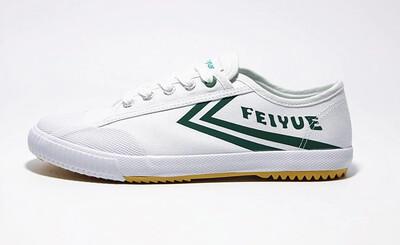 1920 Lo Green Stripe Classic Sneaker Feiyue
